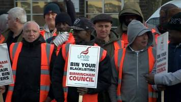 birmingham bin strike: council legal action against union