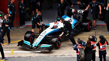 formula 1 testing 2019: williams describe delayed start to testing as 'embarrassing'