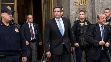 judge delays michael cohen's prison surrender date