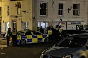 Police find drugs and a knife in surprise Ashbourne raid
