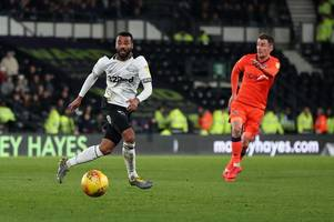 new formation for derby county but no goals in first half against millwall