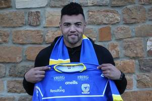 why warrington wolves new signing luther burrell won't count on their salary cap for 18 months