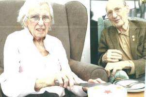 special valentine's day for ellen and gerald after spending 85 years together
