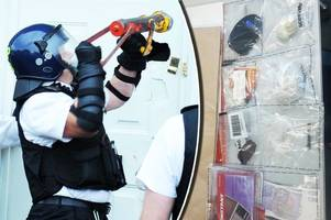 drugs and cash seized as police raid suspected teenage drug dealer's house