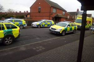 This is why an air ambulance was called to house in Mansfield