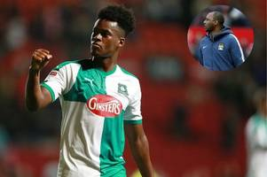 how patrick vieira instilled a manchester city mentality into plymouth argyle's ashley smith-brown