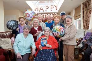 how the whole of tamworth helped mark hilda howes' 100th birthday