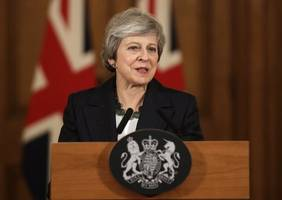 May adamant UK will leave on time: Varadkar