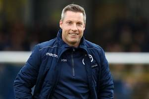every word said by millwall boss neil harris on jed wallace and beating frank lampard's derby