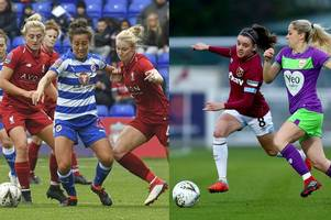 reading women vs west ham united: fara williams and leanne kiernan set for wsl shoot out