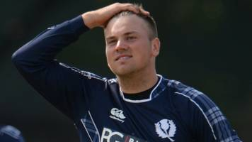 scotland thumped by oman - a day after bowling them out for 24