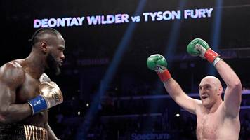 'they owe it to the fans' - wbc 'confident' of wilder-fury rematch