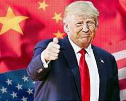 Trump says US-China trade talks 'going very well'