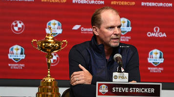 q&a: new ryder cup captain steve stricker on whistling straits, patrick reed and more