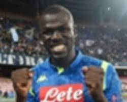 manchester united handed kalidou koulibaly boost after agent's juventus comment