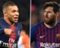 marcelo: mbappe more difficult to play against than messi & he can become the world's best