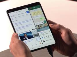 watch samsung unveil its foldable phone — the galaxy fold