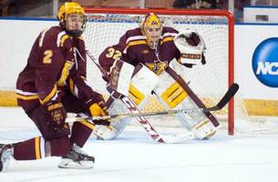 Doug McLeod's hockey insider: As playoffs near, Gophers scramble