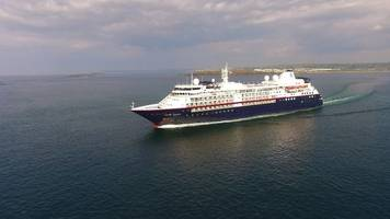 portrush: harbour 'should be used for cruise ships'