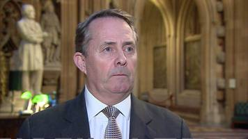 uk must keep no-deal on the table, says fox