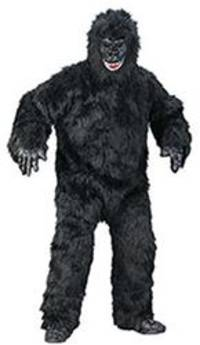police cage prowler wearing gorilla suit