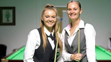 snooker shoot out: reanne evans and emma parker ready for 'massive opportunity'