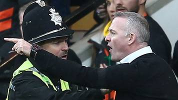 paul lambert: ipswich town boss handed two-match touchline ban after norwich sending-off