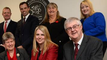 Mark Drakeford's cabinet holds meeting in north Wales