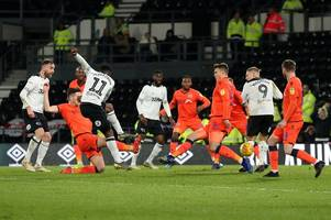 verdict: bitterly disappointing derby county squander chance to climb back into the play-offs