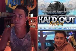 kai brown's friend comes up with ultimate way to remember 'party animal' pal killed in crash