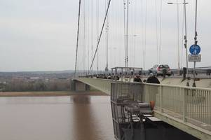 man rescued from water after jumping off humber bridge