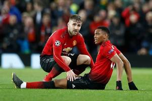 man utd, tottenham and west ham worst hit - every premier league player currently injured