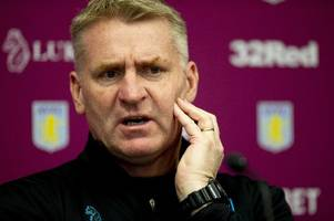 watch dean smith's live aston villa press conference ahead of stoke city game