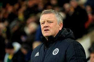 sheffield united boss chris wilder makes this promotion claim ahead of west brom test