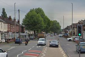 motorcyclist seriously injured and child given treatment after stourbridge road crash