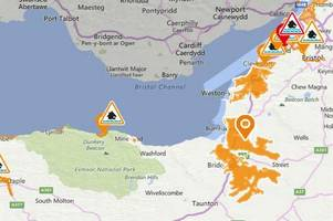 flood warnings issued for parts of somerset despite no rain being forecast
