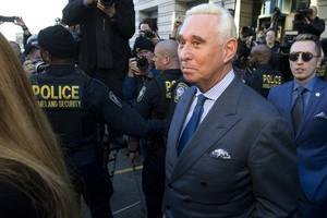 Judge Bars Roger Stone From Speaking About Criminal Case