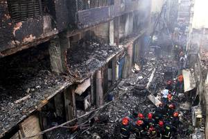 [update] illegal chemical storage blamed for bangladesh fire that killed at least 110
