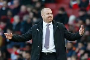 spurs fans will love what sean dyche has said about title battle with liverpool and man city