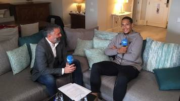 'at 16, i wasn't good enough to play centre-back' – van dijk on rise to top