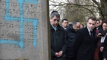 macron announces crackdown on anti-semitism in france