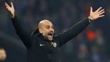 pep guardiola says man city are 'not ready' to win the ucl despite dramatic victory over schalke