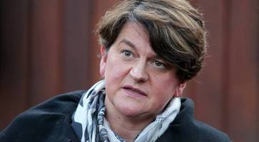 dup's foster may meet trump as she visits us to spell out backstop opposition