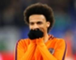 'he is the best in the world playing out wide' - guardiola's high praise for sane ahead of carabao cup final