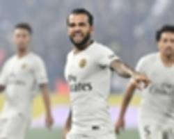 tuchel hopeful psg can tie 'very important' alves down to a new psg contract