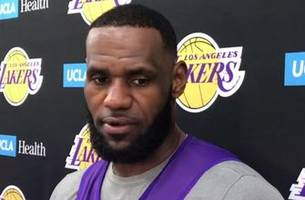 'We gotta win games': LeBron James on the Lakers' playoff chances, his injury, and team unity