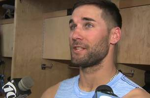 kevin kiermaier on his spring training debut, getting back to baseball
