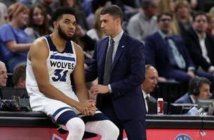 towns listed as questionable for friday's game after car accident