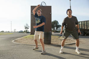 'paddleton' film review: ray romano and mark duplass face mortality in moving, funny bromance