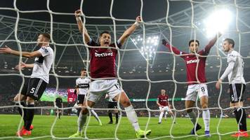 west ham united 3-1 fulham: controversial hernandez goal helps hosts to victory
